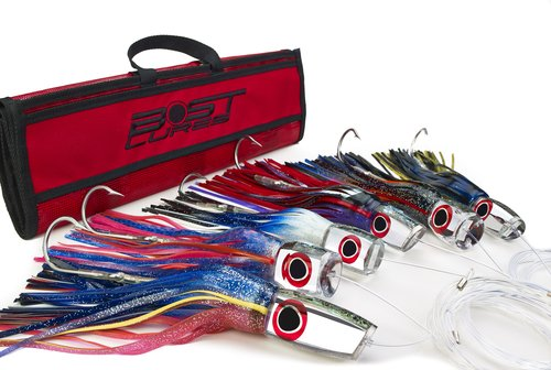 Large Mirrored Marlin Lure Pack by Bost - Un-Rigged by Bost Lures