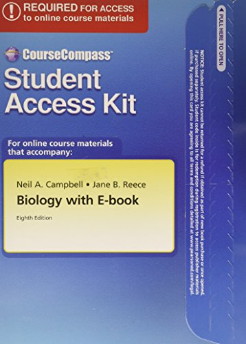 Course Compass Student Access Kit for Biology, 8th Edition