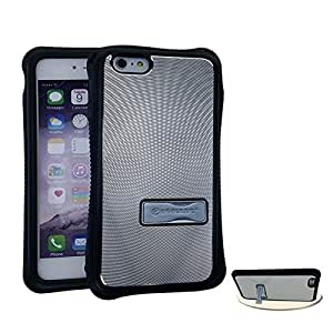 CellTx Razer Case For Apple (iPhone 6) Bumper Metal Case Kick Stand Cover AT&T, T-Mobile, Sprint, Verizon, Boost Mobile, U.S Cellular, Cricket by Maris's Diary