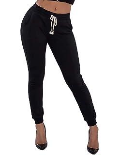 Frecoccialo Treggings Femme Elastique Taille Haute Pantalon de Jogging  Femmes Legging Couleur Uni Taille Grande Sportif a72e6fdba5c