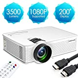 Best Mini Projectors - Projector,Poner Saund GP9 Video Projector,LCD Home Cinema Theater Review
