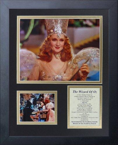 """Legenden Sterben Nie """"Der Zauberer von Oz Glinda gerahmtes Foto Collage, 11 x 35,6 cm von Legends Never Die"""
