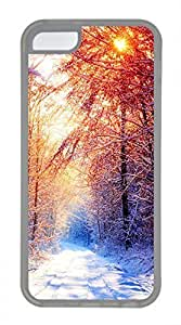 iPhone 5c case, Cute Winter 2 iPhone 5c Cover, iPhone 5c Cases, Soft Clear iPhone 5c Covers