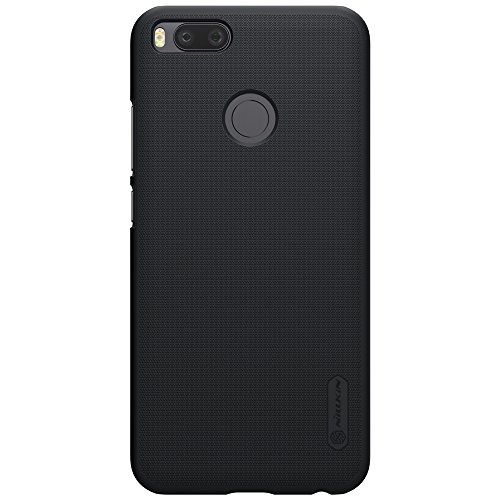 Nillkin Frosted Shield Ultra Thin Hard Plastic Back Cover Case For Xiaomi Mi A1  5.5 inch   Black