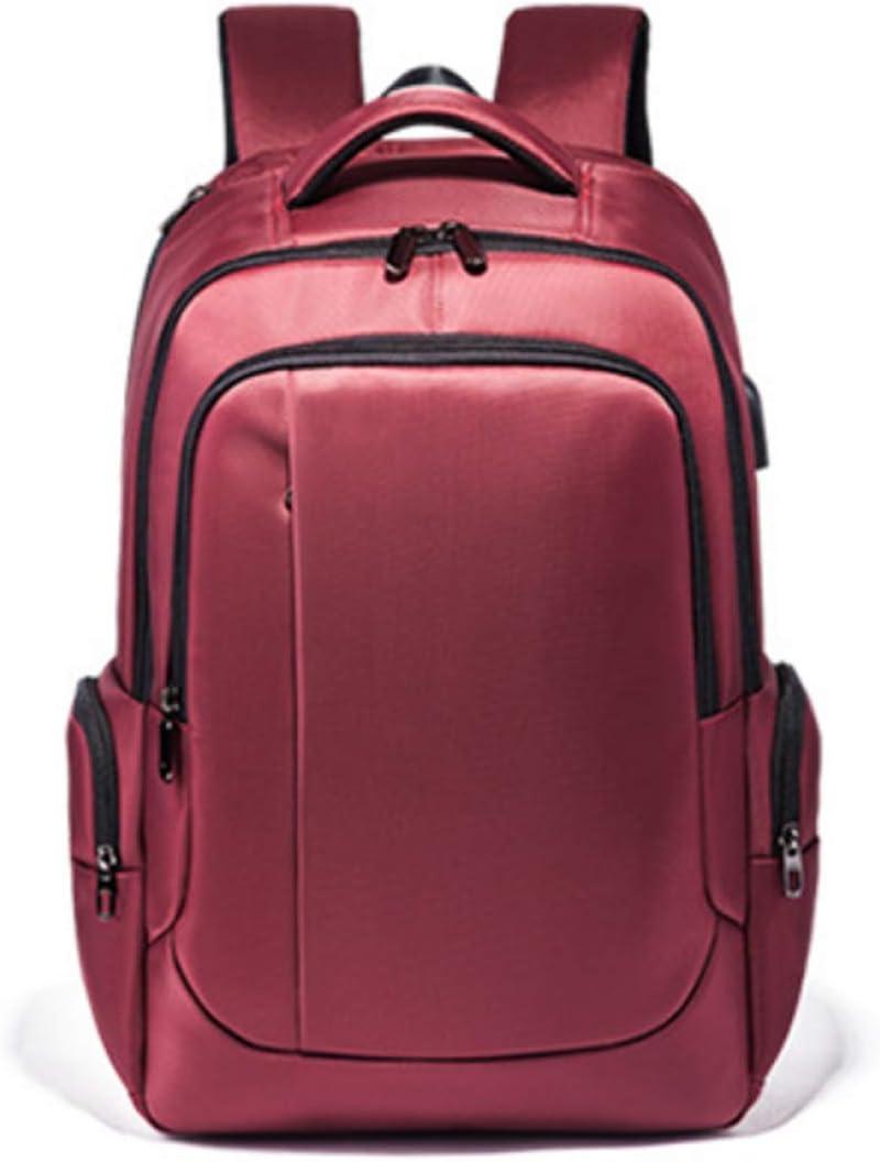 Inlefen Unisex New Retro School Backpack Waterproof Zipper Travel Bag