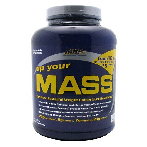 MHP Up Your Mass Vanilla 5 lbs (2270 g) by Mhp