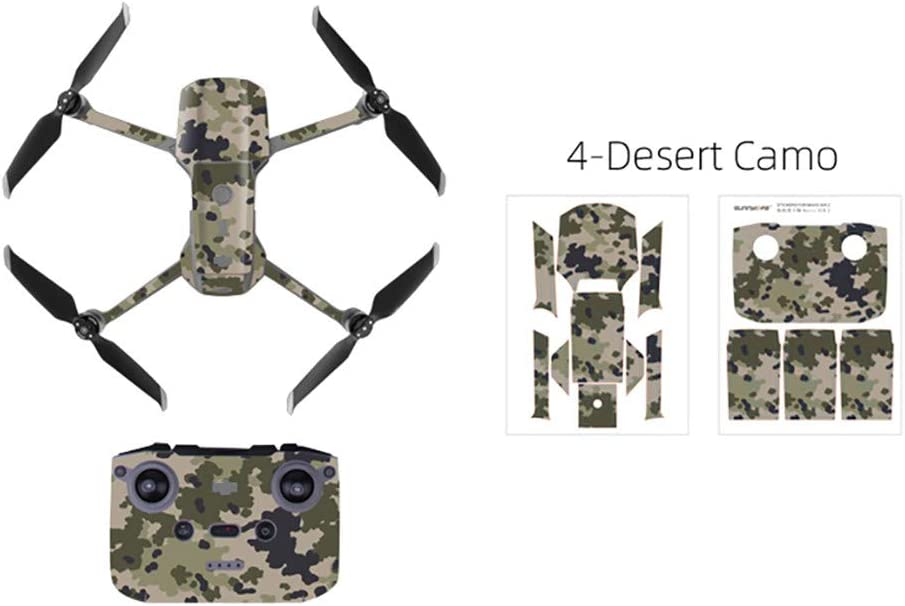 Waterproof PVC Stickers Decal Skin Protective Film For DJI MAVIC Mini 2 Drone
