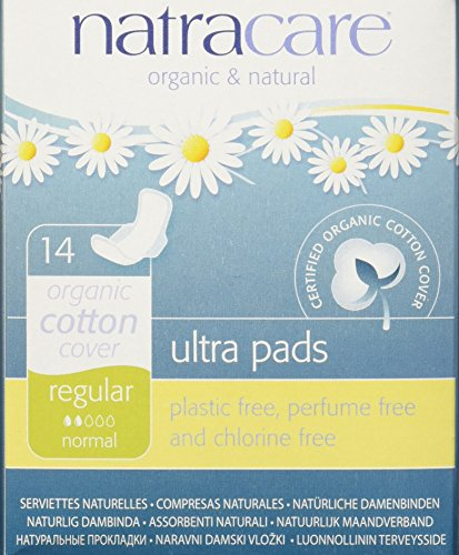 tra Pads with Wings, Regular,  14 Count Boxes (Natural Pads)