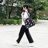 KAMO Large Lightweight Tote Bag - Shoulder Bag for