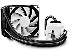 PROMOTION! DEEPCOOL Gamer Storm CAPTAIN 120 AIO Liquid CPU Cooler, 120mm Radiator, 120mm PWM Fan, AM4 Compatible, 3-year Warranty