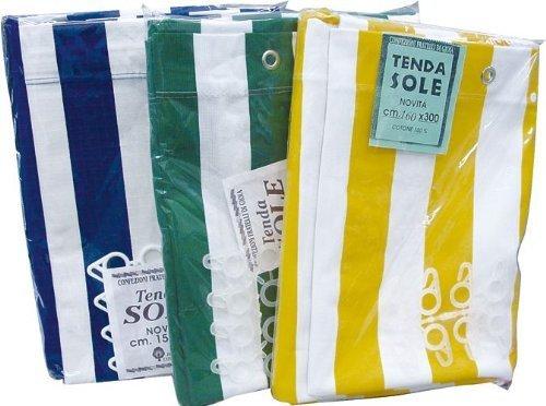Tenda da sole in cotone telato - 140x290 cm - colore: Panna ...