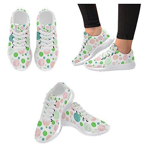 Interestprint Femmes Jogging Running Sneaker Léger Aller Facile À Pied Casual Confort Sport Chaussures De Course Pour Les Femmes Multi 67