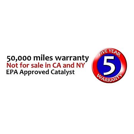 01-04 Xterra Front Evan Fischer Catalytic Converter for Nissan 00-04 Frontier