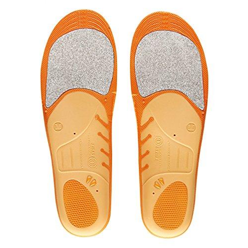 Sidas X-Socks Winter 3D - Plantillas de calzado para deportes de invierno, color naranja, talla M (39-41)