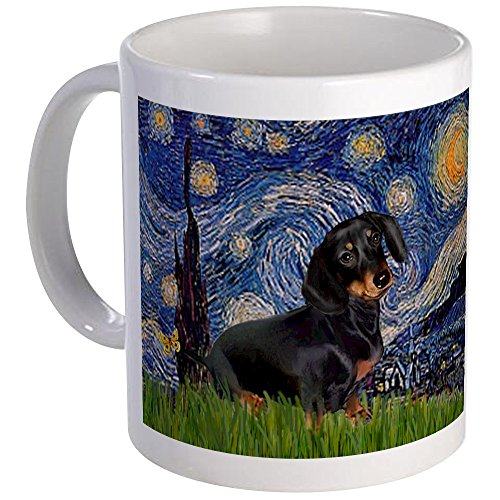 CafePress Starry Dachshund Unique Coffee