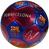 FC Barcelona Official Signature Crest Football (Size 5)
