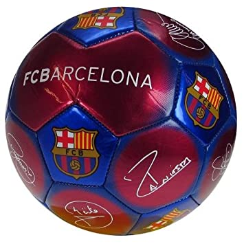 Fc barcelona signature ball size 5 messi iniesta soccer equipment fc barcelona signature ball size 5 messi iniesta stopboris Choice Image
