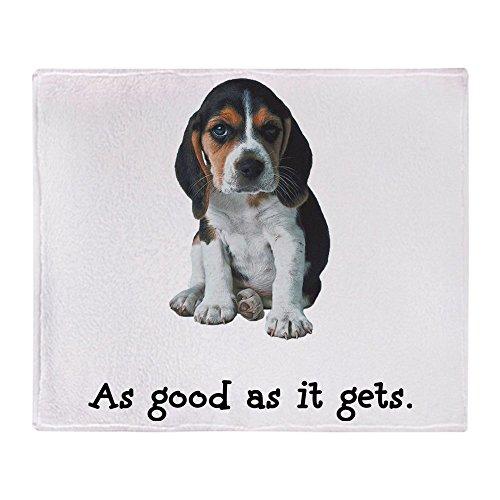 "CafePress Good Beagle Soft Fleece Throw Blanket, 50""x60"" Stadium Blanket"