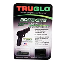 Truglo TFO Handgun Sight Set - Sig #6/#8 Green/Yellow Rear