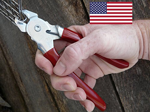 Heirloom quality Hog ring pliers USA MADE by Eden Farms (Image #1)