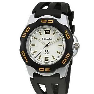 Sonata Analog Multi-Color Dial Men's Watch -NL7929PP01