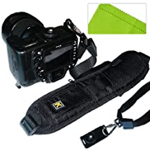 First2savvv Quick Release Professional Shoulder Sling Strap with storage pocket for Nikon D7000 D90 D5100 D5000 D3100 D3000 D700 D300s D3X D3S D800 D800E D3200 D4 D600 D5200 COOLPIX P7100 COOLPIX P510 COOLPIX L310 COOLPIX L810 COOLPIX P520 COOLPIX L820 Film SLR Camera F6 D7100 COOLPIX L320 with LENS Cleaning Cloth