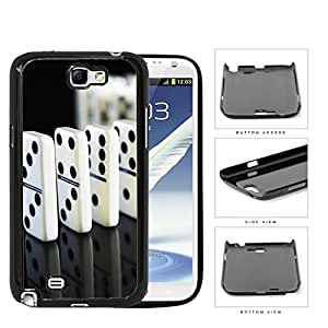 Trail Of Dominoes Hard Plastic Snap On Cell Phone Case Samsung Galaxy Note 2 II N7100