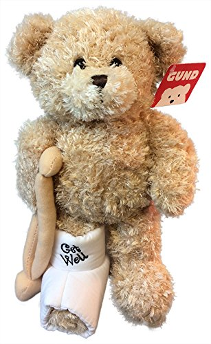 Gund-Break-A-Leg-Jr-85-inch-Get-Well-Teddy-Bear-with-a-Cast