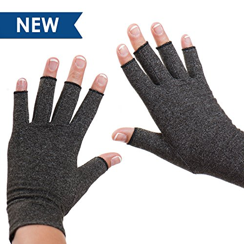 Dr. Frederick's Original Arthritis Gloves - Warmth and Compression for relief of Rheumatoid and Osteoarthritis Joint Pain