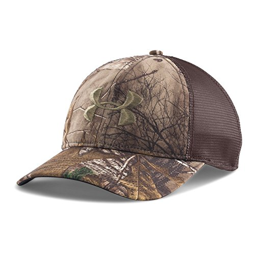Under Armour Men's Camo Mesh Back Cap, Realtree Ap-Xtra (947)/Bayou, One Size