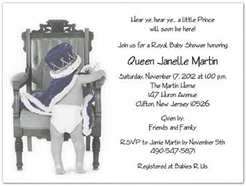 Amazon Prince Charming Baby Shower Invitations Set Of 20