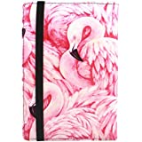 Ropada Case Kindle Paperwhite 2018 Released Kindle 10th Generation E-Reader 6'' PU Leather Kindle Covers(Will Also Fit Other Kindle Versions) Huo niao (Flamingo)