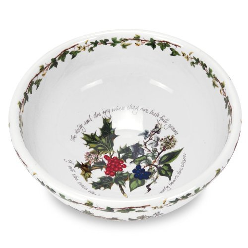 Portmeirion Holly and Ivy Salad/Mixing Bowl by Portmeirion