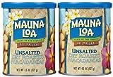 Mauna Loa Roasted Unsalted Macadamia Nuts Can, 4.5 oz, 2 pk