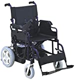 SCURE Dry Cell Battery Operated Power Wheelchair (Black)