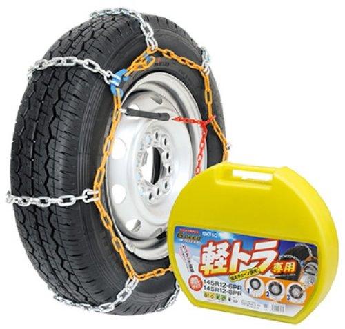 Gneed [ ジーニード ] 金属チェーン 軽トラ用タイヤチェーン GKT10 B001630GTU