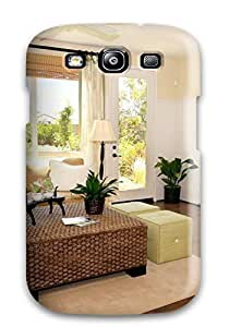 For Mary David Proctor Galaxy Protective Case, High Quality For Galaxy S3 Home Interior Design Modern Living Room Skin Case Cover