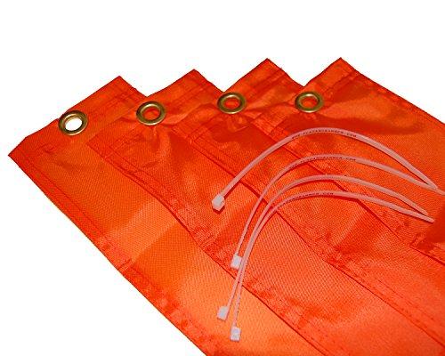 Football Goalpost Wind Directional Flags (Set of 4)]()