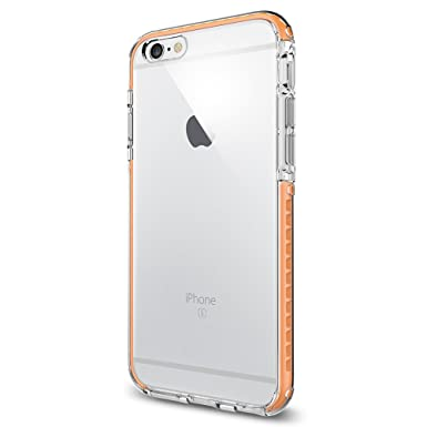 separation shoes ac879 f88b1 iPhone 6s Case, Spigen® [Ultra Hybrid TECH] AIR CUSHION [Crystal Orange]  Slim Highly Durable + Flexible TPU Bumper Protection for iPhone 6s (2015) -  ...