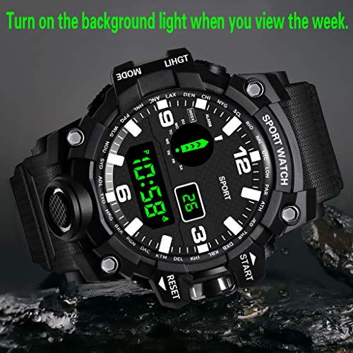 Amazon.com: Deesee (TM) HONHX - Reloj digital LED para ...