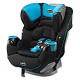 Evenflo Platinum SafeMax All-in-One Car Seat, Marshall, Black, Blue, One Size