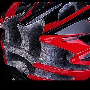 Helmets Casque VTT Adulte Casque vélo VTT Vélo vélo Planche à roulettes Scooter Hoverboard Casque de sécurité for l'équitation légère réglable Respirant Casque LQHZWYC (Color : D)