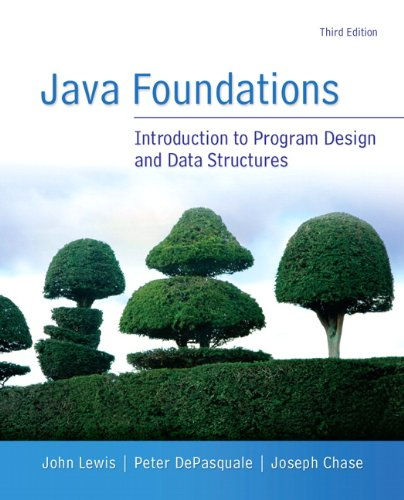 Java Foundations (3rd Edition) by Brand: Addison-Wesley