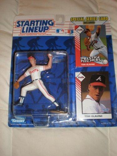 1993 Tom Glavine MLB Starting Lineup Figure: Atlanta Braves