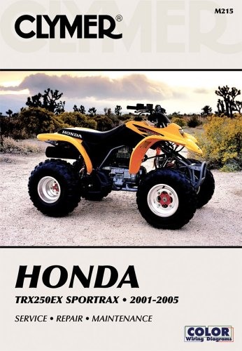 Honda TRX250EX Sportrax, 2001-2005 Clymer All-terrain ...