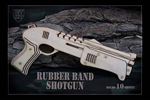 Amazon husband gift diy rubber band shotgun gift for men do husband gift diy rubber band shotgun gift for men do it yourself gift for solutioingenieria Images