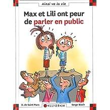 Max et Lili ont peur de parler en public - Nº 117