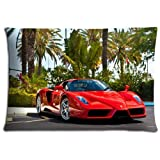 20x30 inch 50x76 cm bedding pillow protectors cases Polyester and Cotton Fabric Custom Ferrari