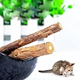 OrliverHL Natural Catnip Cat Cleaning Teeth Molar Toothpaste Stick