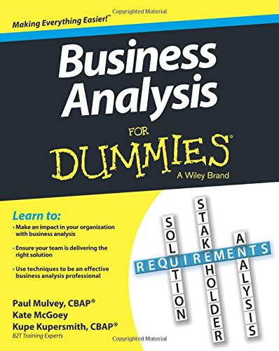 AmazonCom Business Analysis For Dummies  Kupe